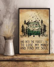 And Into The Forest I Go 11x17 Poster lifestyle-poster-3