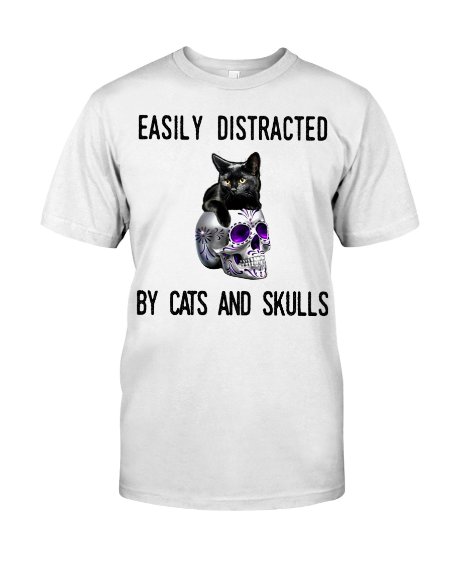 Cats And Skulls Classic T-Shirt