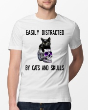 Cats And Skulls Classic T-Shirt lifestyle-mens-crewneck-front-13