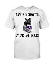 Cats And Skulls Premium Fit Mens Tee tile