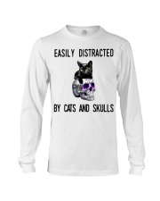 Cats And Skulls Long Sleeve Tee thumbnail