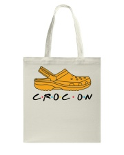 Croc On Tote Bag thumbnail