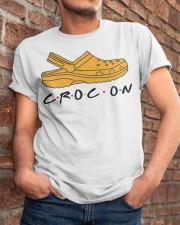 Croc On Classic T-Shirt apparel-classic-tshirt-lifestyle-26
