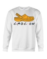 Croc On Crewneck Sweatshirt thumbnail
