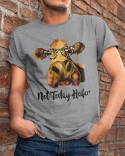 Not Today Heifer Classic T-Shirt apparel-classic-tshirt-lifestyle-26