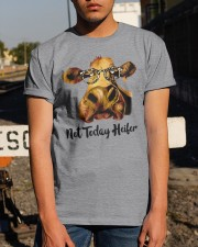 Not Today Heifer Classic T-Shirt apparel-classic-tshirt-lifestyle-29