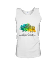 And Into The Forest I Go Unisex Tank thumbnail