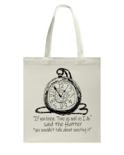 Alice In Wonderland Tote Bag thumbnail