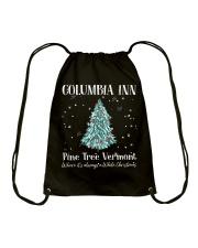 Pine Tree Vermont Drawstring Bag thumbnail