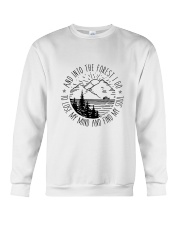 Into The Forest Crewneck Sweatshirt thumbnail