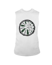 I Took A Walk In The Woods Sleeveless Tee thumbnail