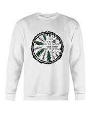 I Took A Walk In The Woods Crewneck Sweatshirt thumbnail