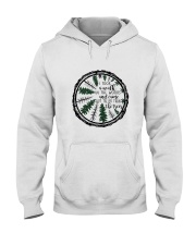 I Took A Walk In The Woods Hooded Sweatshirt front