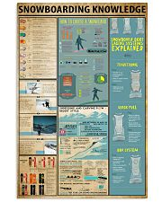 Snowboarding Knowledge 11x17 Poster front