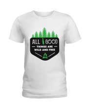 All Good Things Ladies T-Shirt thumbnail