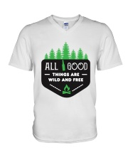 All Good Things V-Neck T-Shirt thumbnail