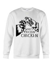 What's Kickin Chicken Crewneck Sweatshirt thumbnail