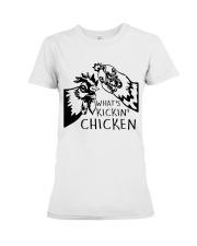 What's Kickin Chicken Premium Fit Ladies Tee thumbnail