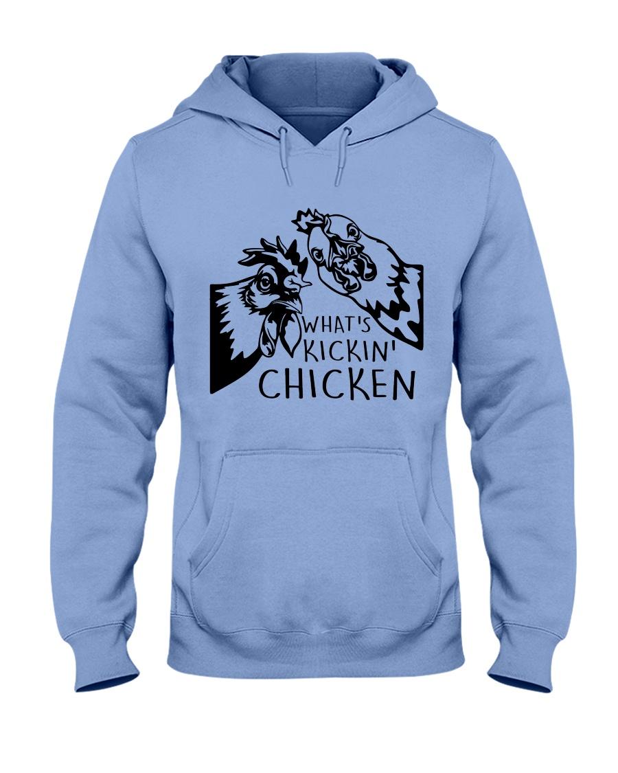 What's Kickin Chicken Hooded Sweatshirt