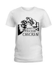 What's Kickin Chicken Ladies T-Shirt thumbnail
