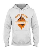 Get High In The Rock Hooded Sweatshirt front