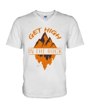 Get High In The Rock V-Neck T-Shirt thumbnail
