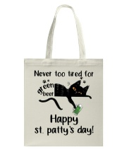 Happy St Patty's Day Tote Bag thumbnail