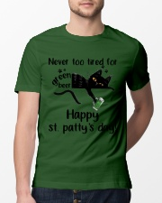 Happy St Patty's Day Classic T-Shirt lifestyle-mens-crewneck-front-13