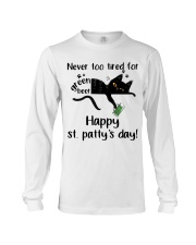 Happy St Patty's Day Long Sleeve Tee tile