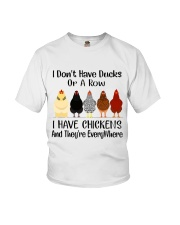 I Have Chickens Youth T-Shirt thumbnail
