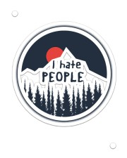 I Hate People Sticker - Single (Vertical) thumbnail