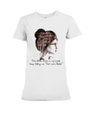 Get More Books Premium Fit Ladies Tee thumbnail