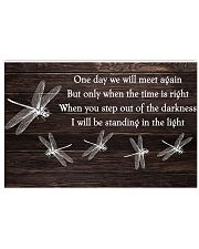 One Day We Will Meet 17x11 Poster front