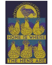 Home Is Where The Hens Are 11x17 Poster front