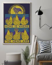 Home Is Where The Hens Are 11x17 Poster lifestyle-poster-1