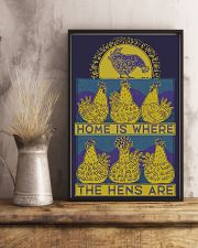 Home Is Where The Hens Are 11x17 Poster lifestyle-poster-3