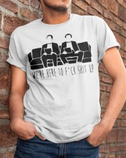 We Are Here Classic T-Shirt apparel-classic-tshirt-lifestyle-26