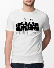 We Are Here Classic T-Shirt lifestyle-mens-crewneck-front-13