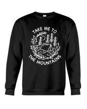 Take Me To The Mountains 4 Crewneck Sweatshirt thumbnail