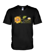 Freedom Is Just Another World 2 V-Neck T-Shirt thumbnail