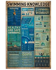 Swiming Knowledge 11x17 Poster front