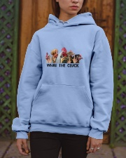 What The Clucks Hooded Sweatshirt apparel-hooded-sweatshirt-lifestyle-front-03