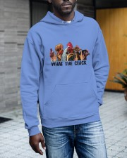 What The Clucks Hooded Sweatshirt apparel-hooded-sweatshirt-lifestyle-front-17