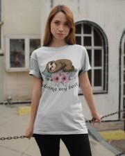 Doing My Best Classic T-Shirt apparel-classic-tshirt-lifestyle-19