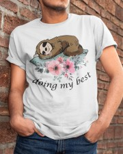 Doing My Best Classic T-Shirt apparel-classic-tshirt-lifestyle-26