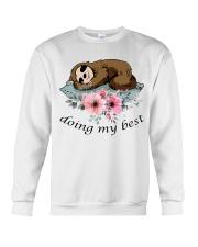 Doing My Best Crewneck Sweatshirt thumbnail