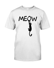 Meow Classic T-Shirt front