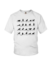 Siberian Huskies Dog Youth T-Shirt tile