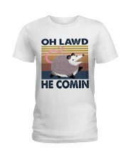 Oh Lawd He Comin Ladies T-Shirt thumbnail