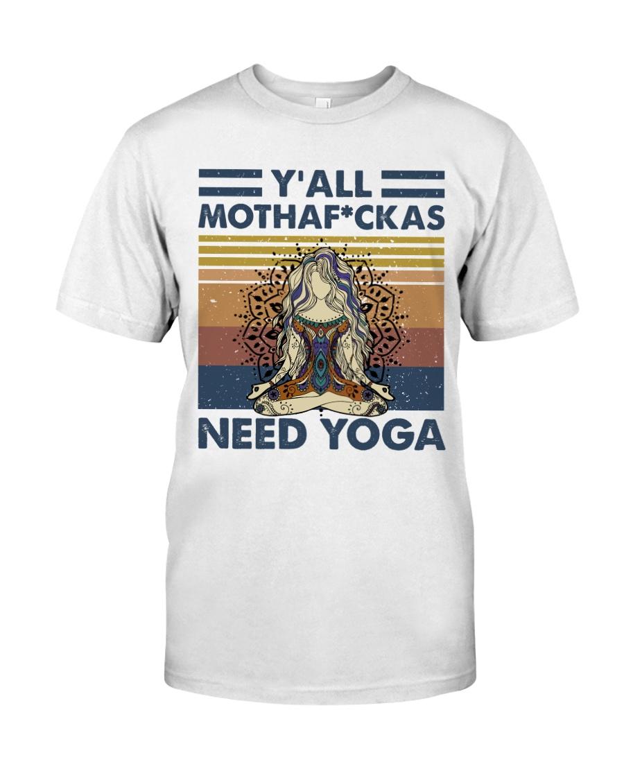 Need Yoga Classic T-Shirt